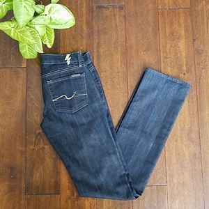 👖7Jeans Gold Digger Straight Leg  (25)